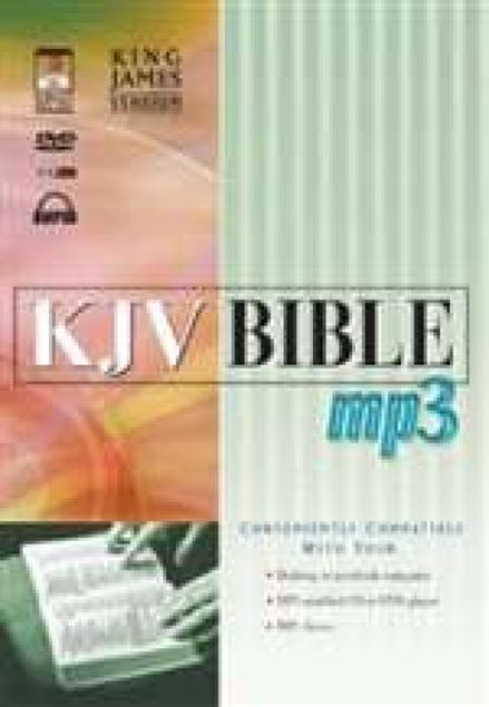 Picture of Kjv-Bible On Dvd-Mp3
