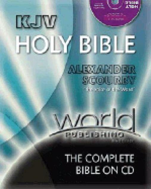 Picture of Kjv-Bible/Cd-Scby-Bag-Wbcd5