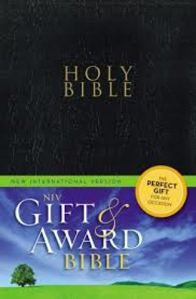 Picture of Niv Gift And Award Bible [Deluxe Edition] [Leather Bound]