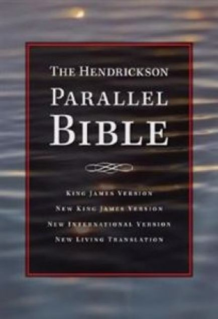 Picture of Hendrickson Parallel Bible-Burgundy