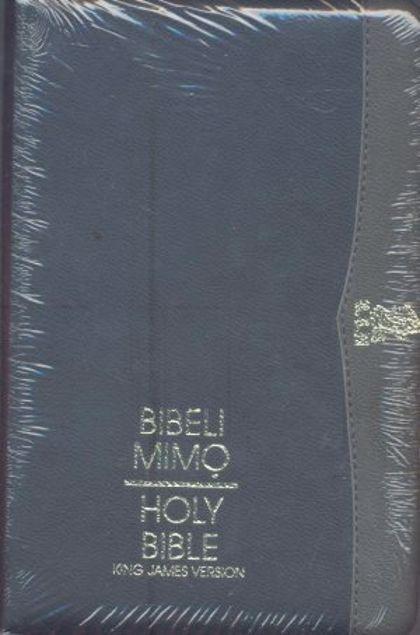 Picture of Kjv-Bibeli Mimo/Holy Bible-Zip