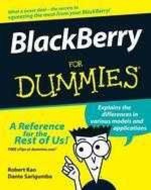 Picture of Blackberry For Dummies, Paper Cover