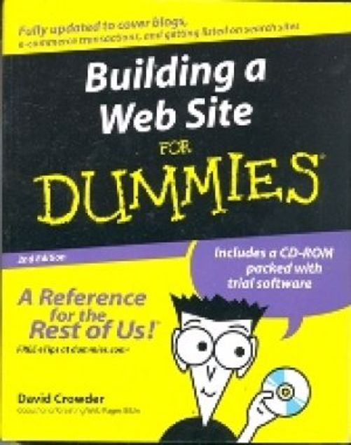 Picture of Building A Web Site For Dummies,Plus Cd