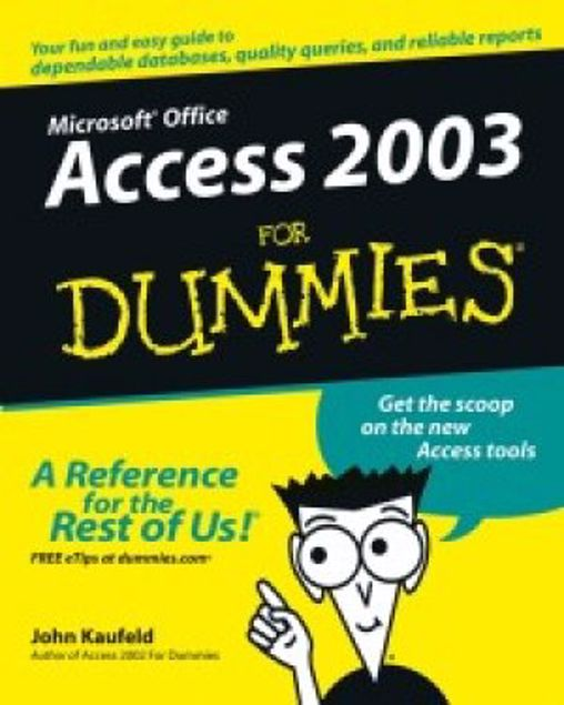 Picture of Bz-Dummies-Ms-Access 2003