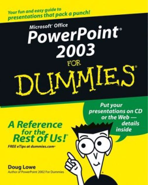 Picture of Bz-Dummies-Ms-Powerpoint 2003