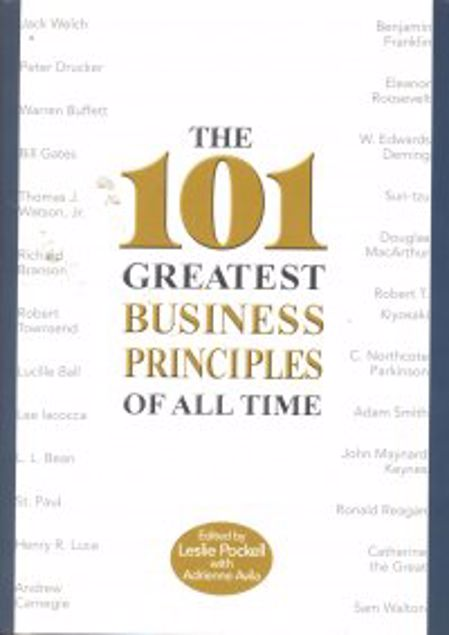 Picture of 101 Greatest Business Principles Of All Time