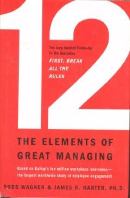 Picture of 12-The Elements Of Great Managing, Hard Cover