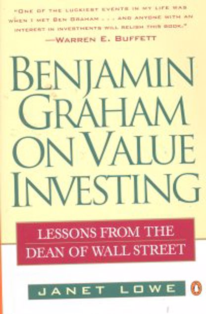 Picture of Benjamin Graham On Value Investing, Paper Cover
