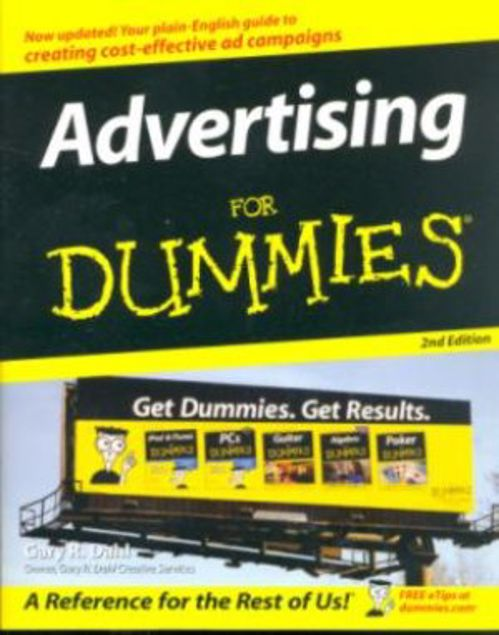 Picture of Advertising For Dummies, Paper Cover