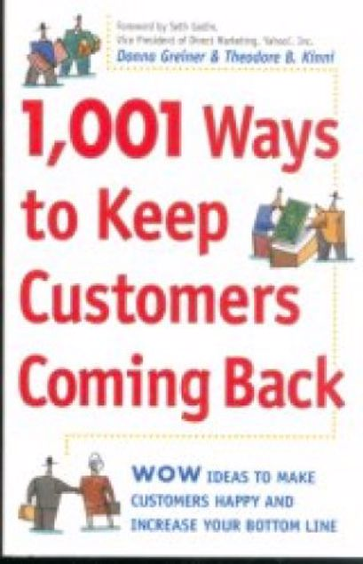 Picture of 1001 Ways To Keep Customers Coming Back