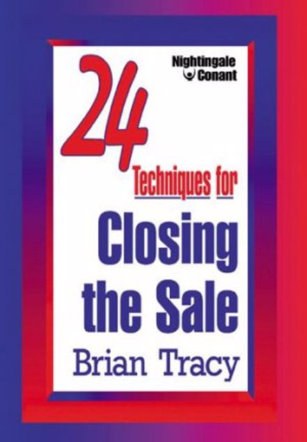 Picture of 24 Techniques For Closing The Sale