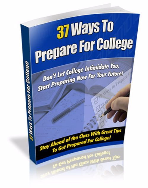Picture of 37 Ways to Prepare for College