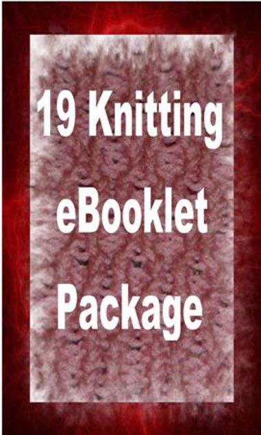 Picture of 19 Ebooklets - Learn How to Knit & Crochet