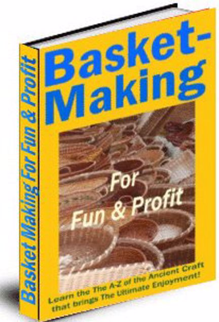 Picture of Basket Making for Fun & Profit includes Private Label Rights