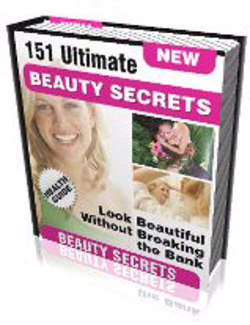 Picture of 151 Ultimate Beauty Secrets