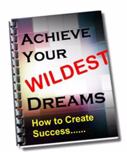 Picture of Achieve Your Wildest Dreams