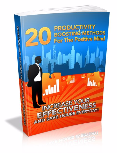 Picture of 20 Productivity Boosting Methods for the Positive Mind