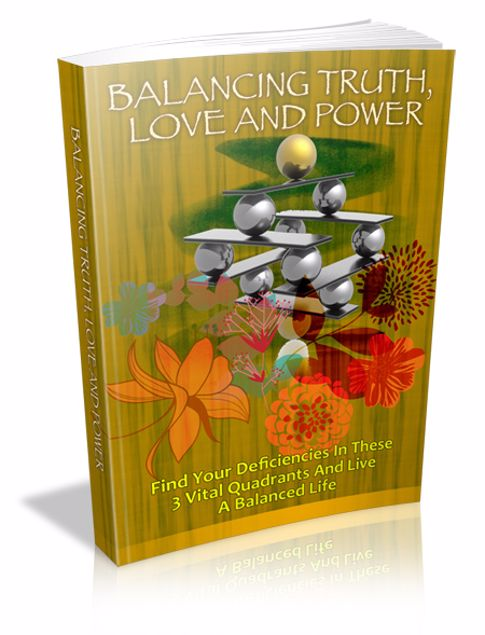 Picture of Balancing Truth, Love and Power