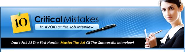 Picture of 10 Critical Mistakes to Avoid at the Job Interview