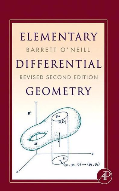 Picture of Elementary Differential Geometry, Revised 2nd Edition
