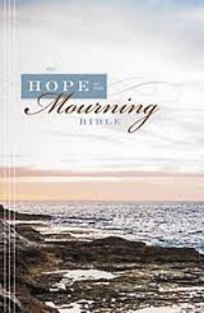 Picture of Niv Hope In The Mourning Bible: Finding Strength Through God's Eternal Perspective