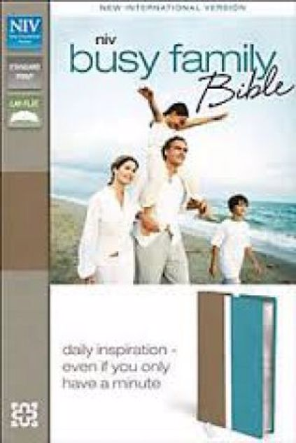Picture of Niv Busy Family Bible: Daily Inspiration Even If You Only Have A Minute