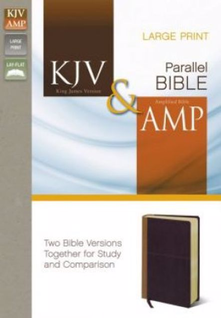 Picture of Kjv And Amplified Side-By-Side Bible, Large Print