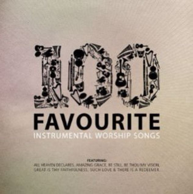 Picture of 100 Favourite Instrumental Worship Songs