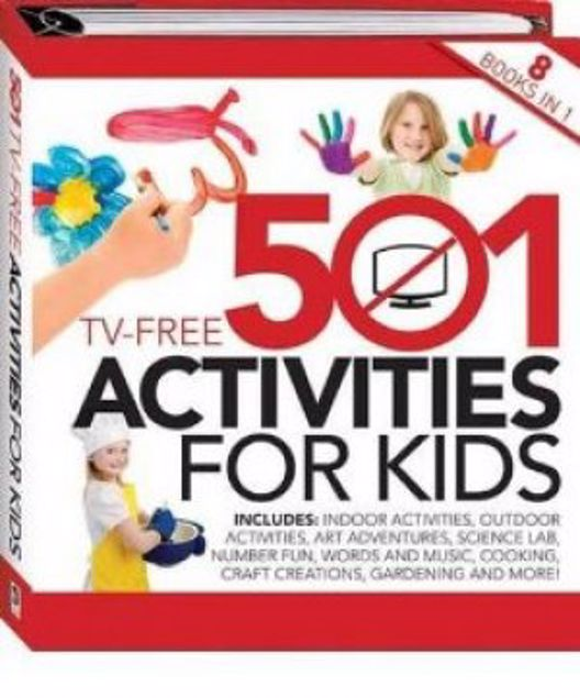 Picture of 501 Tv Free Activities For Kids, , Acceptable Book