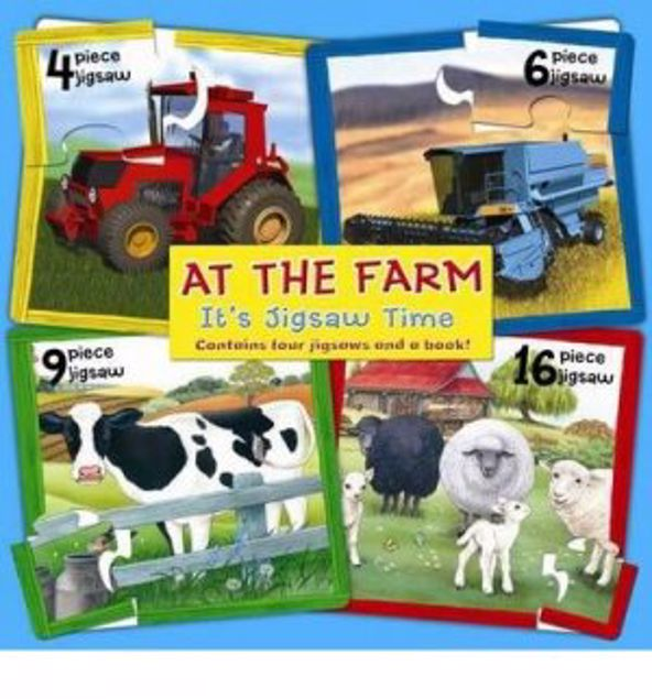 Picture of At The Farm (Board Book)
