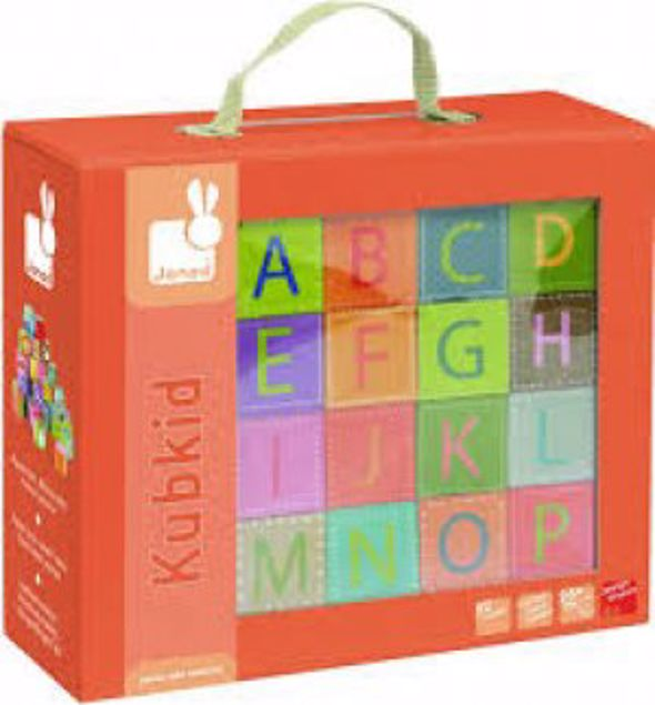 Picture of 32 Block Alphabets