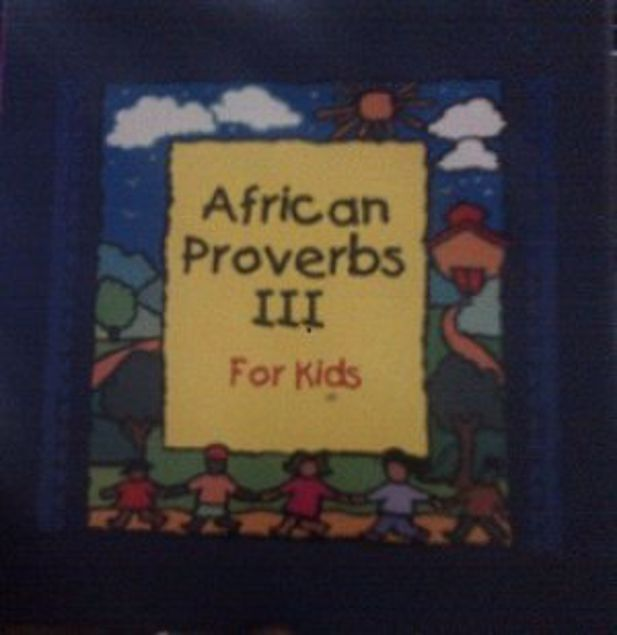 Picture of African Proverbs 3 For Kids