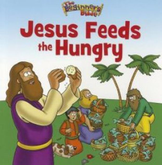 Picture of Jesus Feeds The Hungry