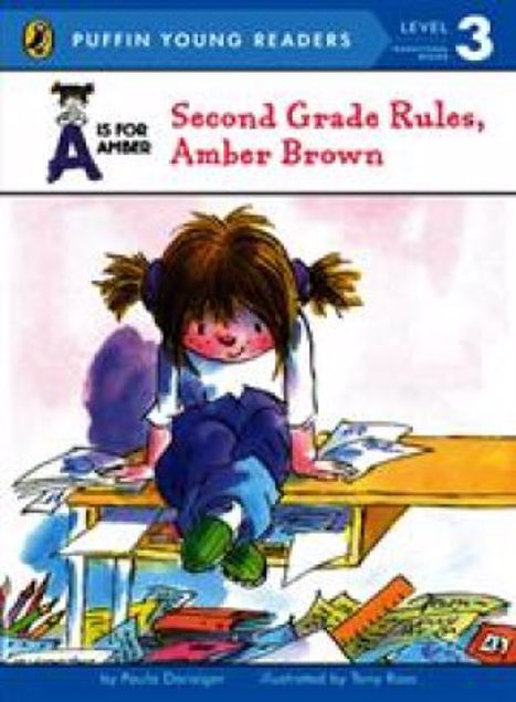 Picture of A Is For Amber Second Grade Rules, Amber Brown