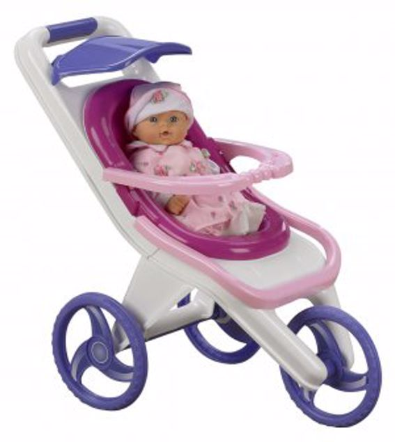 Picture of Plastic Toy 3-In-1 Stroller