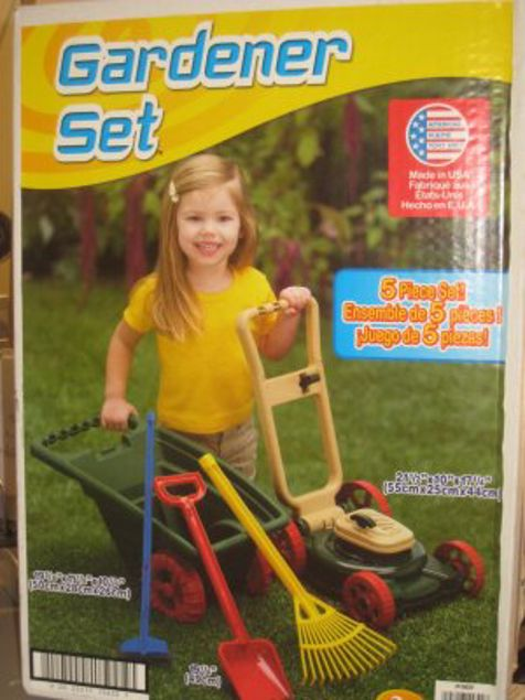 Picture of Plastic Toy -  Pieces Gardener Set