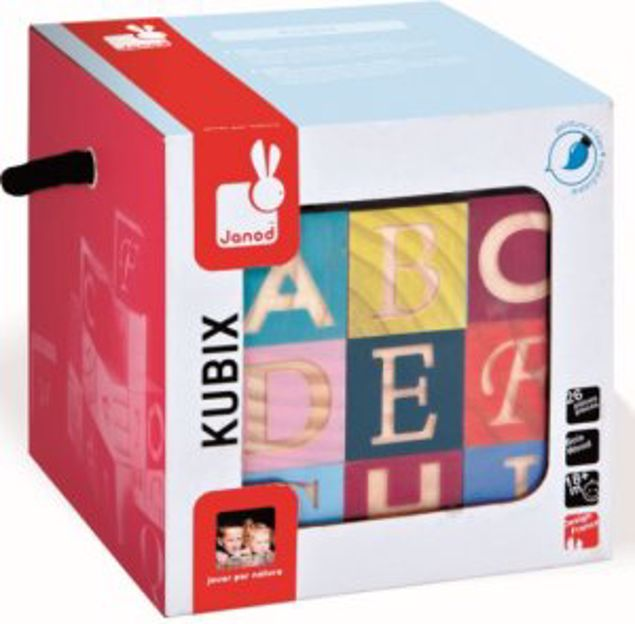 Picture of 26 Maxi Letters Blocks