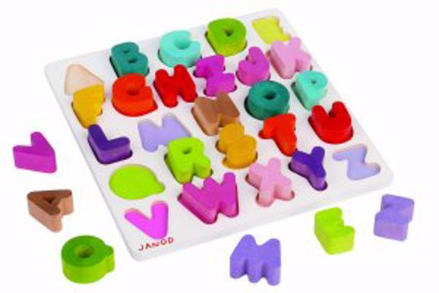 Picture of Alphabet Puzzle