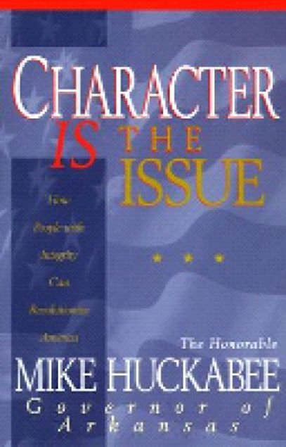Picture of Character Is The Issue-H/C