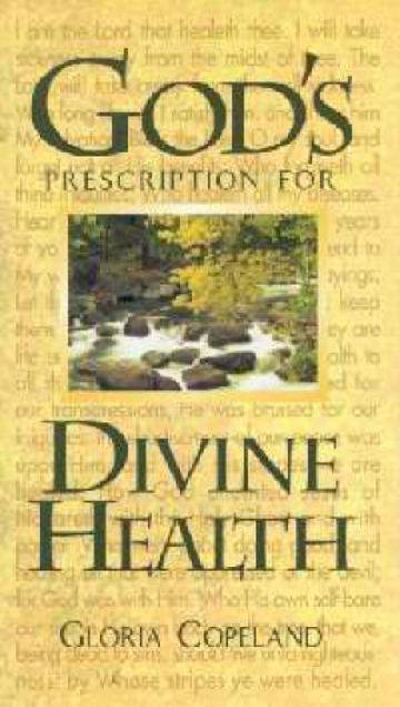 Picture of God's Prescription For Divine
