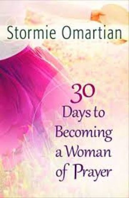 Picture of 30 Days To Becoming A Woman Of Prayer