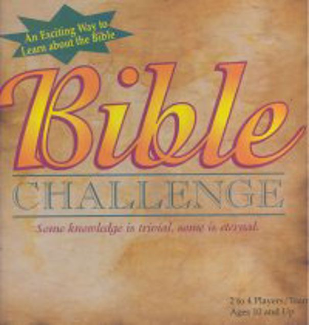 Picture of Bible Chalenge