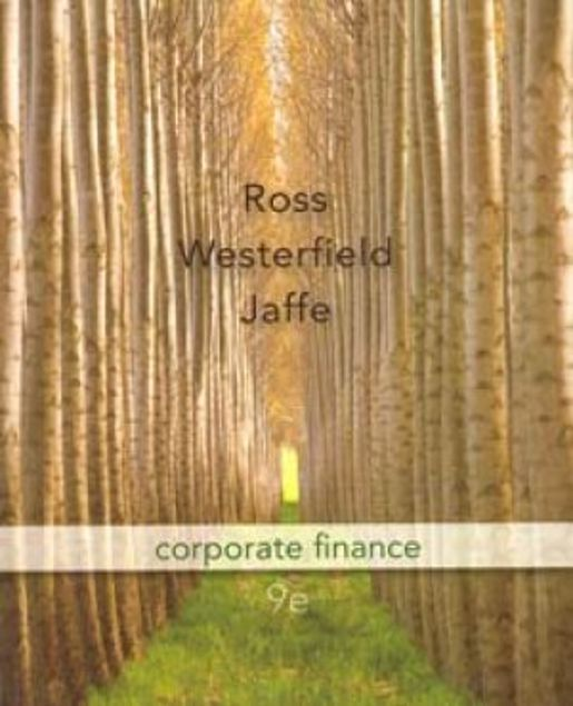 Picture of Corporate Finance (Ninth Edition)