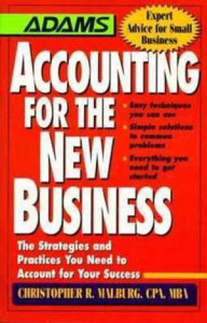 Picture of Accounting For The New Business