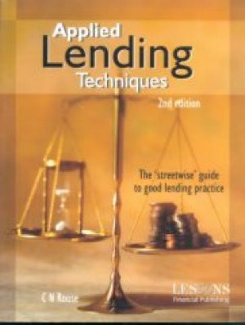 Picture of Applied Lending Techniques, Paper Cover