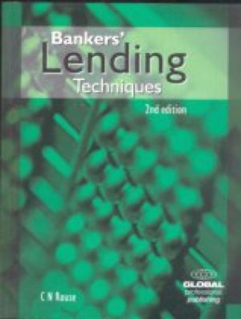 Picture of Bankers' Lending Techniques, Paper Cover