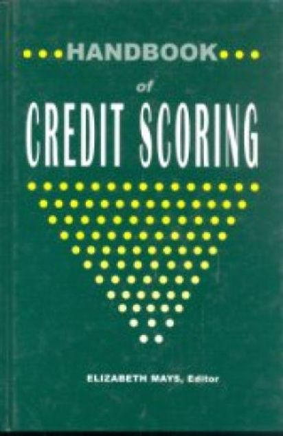 Picture of Handbook Of Credit Scoring, Hard Cover