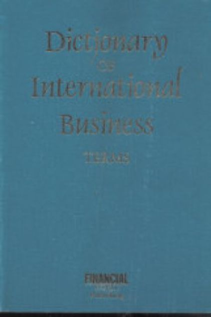 Picture of Dictionary Of International Business Terms, Paper Cover