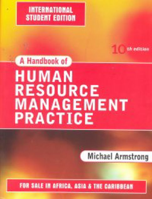 Picture of A Hand Book Of Human Resources Management Practice