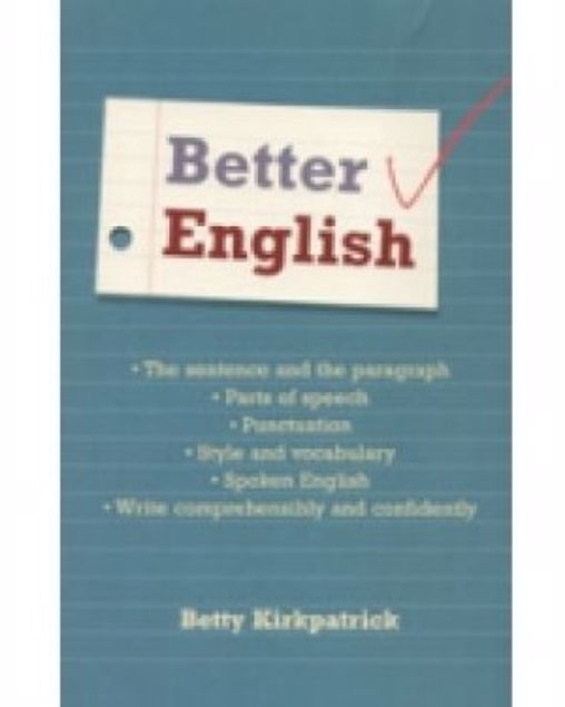Picture of Better English, Paper Cover